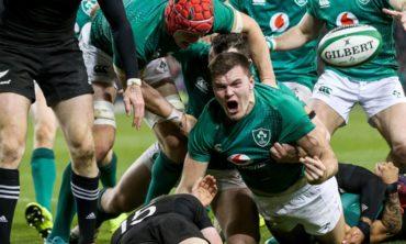 Ireland v New Zealand – 2021 Autumn Nations Series